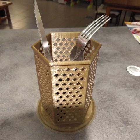 Modelos 3D gratis cubertería Pot, LLH