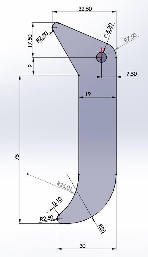 Côtes.JPG Download free STL file Handle clamp plastic seal • 3D printing model, LLH