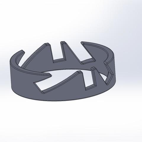 Diseños 3D gratis soporte de repisa, LLH
