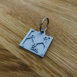 Free stl PLA Keychain, milasls