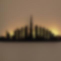 Télécharger fichier 3D gratuit Dubai Wall Décoration murale, milasls