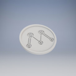 Capture d'écran 2017-11-06 à 14.25.05.png Download free STL file Alumina Coaster • Model to 3D print, milasls
