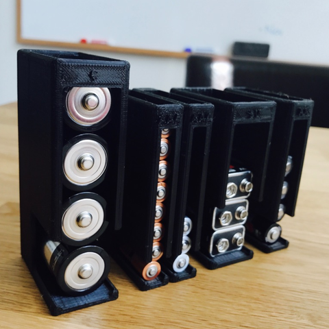 Diseños 3D gratis Soporte de la batería, milasls