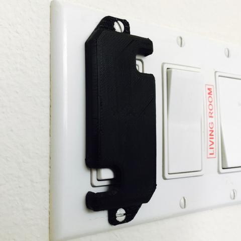 Free STL Light Switch Guard, milasls