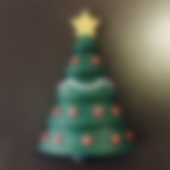 Free 3d printer model Christmas Tree Ornament, milasls