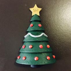 archivos 3d Ornamento del árbol de navidad gratis, milasls
