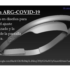 Descargar modelos 3D Vincha ARG-COVID-19, orionfigonachi