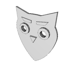 3D printer files Guitar Pick Owl N1, eMulas