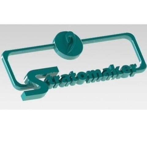 Free 3D printer file #STRATOMAKER, nldise