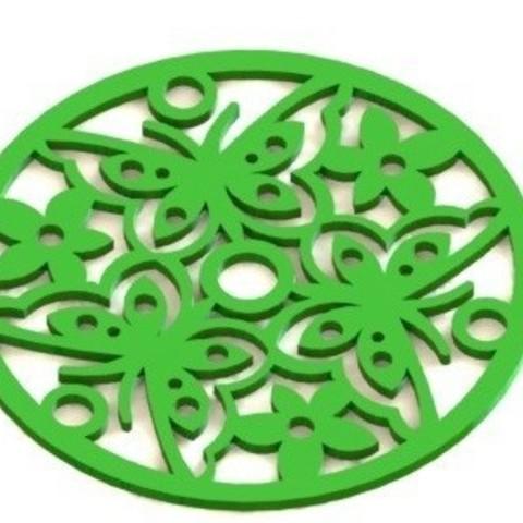 Mandala 1.JPG Download STL file Mandala 1 • 3D printing design, nldise