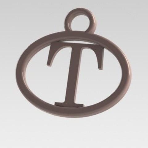 Dije T.JPG Download STL file I said letter T • 3D printer design, nldise