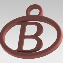 Download 3D printer designs I said with a letter B, nldise