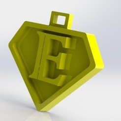 E.JPG Download STL file You say the letter E • Model to 3D print, nldise