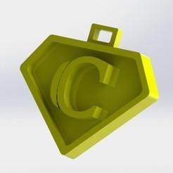 C.JPG Download STL file You say letter C • Design to 3D print, nldise