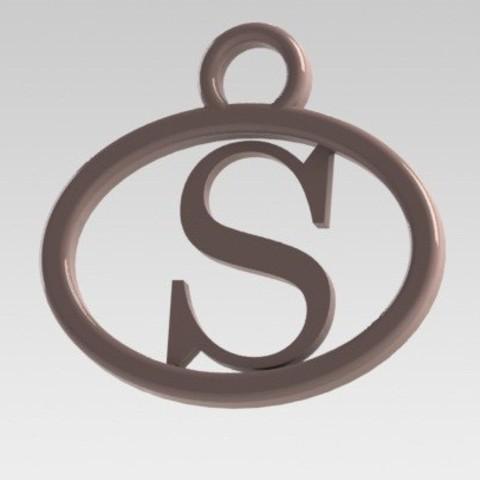Dije S.JPG Download STL file I said letter S • 3D print design, nldise