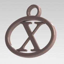 Télécharger plan imprimante 3D J'ai dit lettre X, nldise