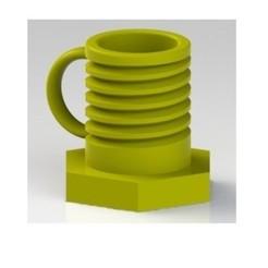 Descargar archivo 3D Taza forma tornillo-bulon, nldise