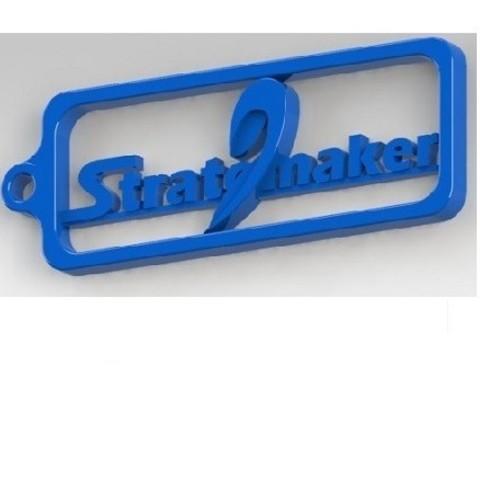 Free stl Stratomaker keychain, nldise