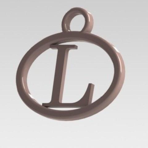 Dije L.JPG Download STL file I said with a letter L • 3D printable model, nldise