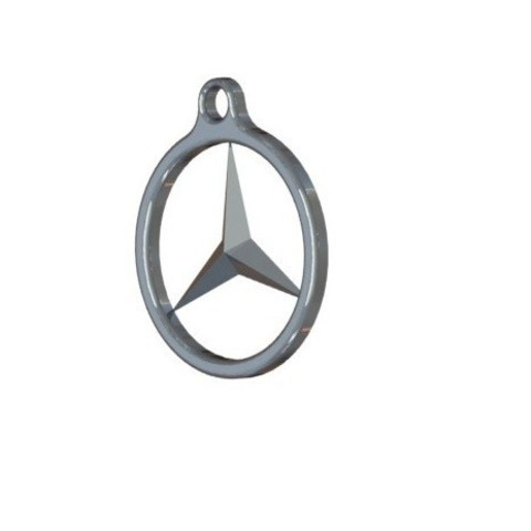Free STL Mercedez Benz key ring, nldise