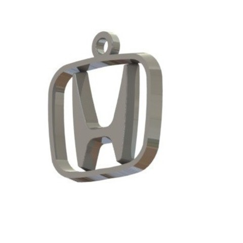Free 3D file Honda Logo Keychain, nldise