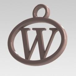 Télécharger modèle 3D J'ai dit lettre W, nldise