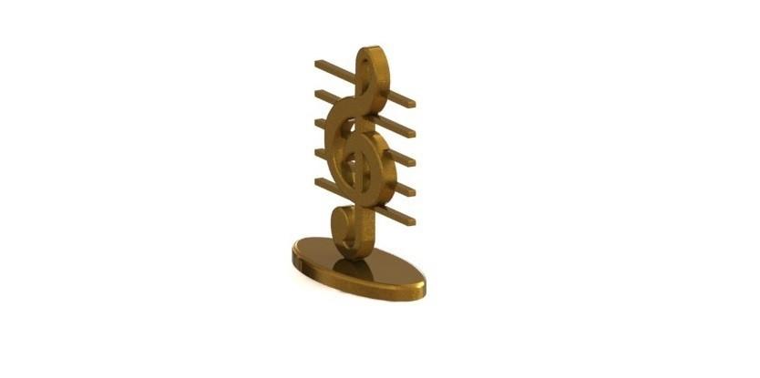 Clave.JPG Download STL file Key se Sol with base • 3D printable object, nldise