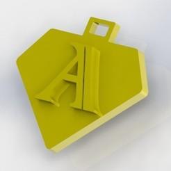 A.JPG Télécharger fichier STL Vous dites la lettre A • Design pour impression 3D, nldise