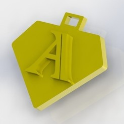 A.JPG Download STL file You say letter A • 3D printing design, nldise