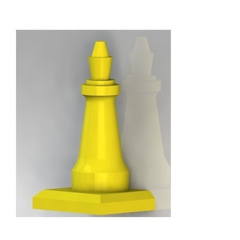 3D file Chess piece with base, nldise