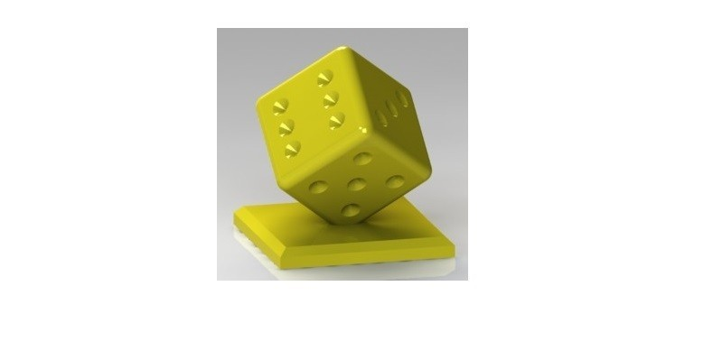 Dado.JPG Download STL file Given with base • Model to 3D print, nldise