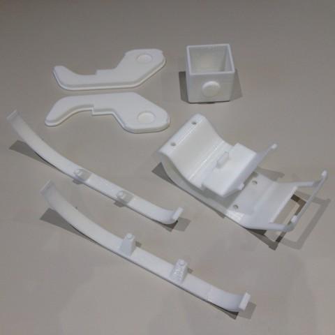 Download free 3D print files Sleigh Pere Noel, Emmanuelb
