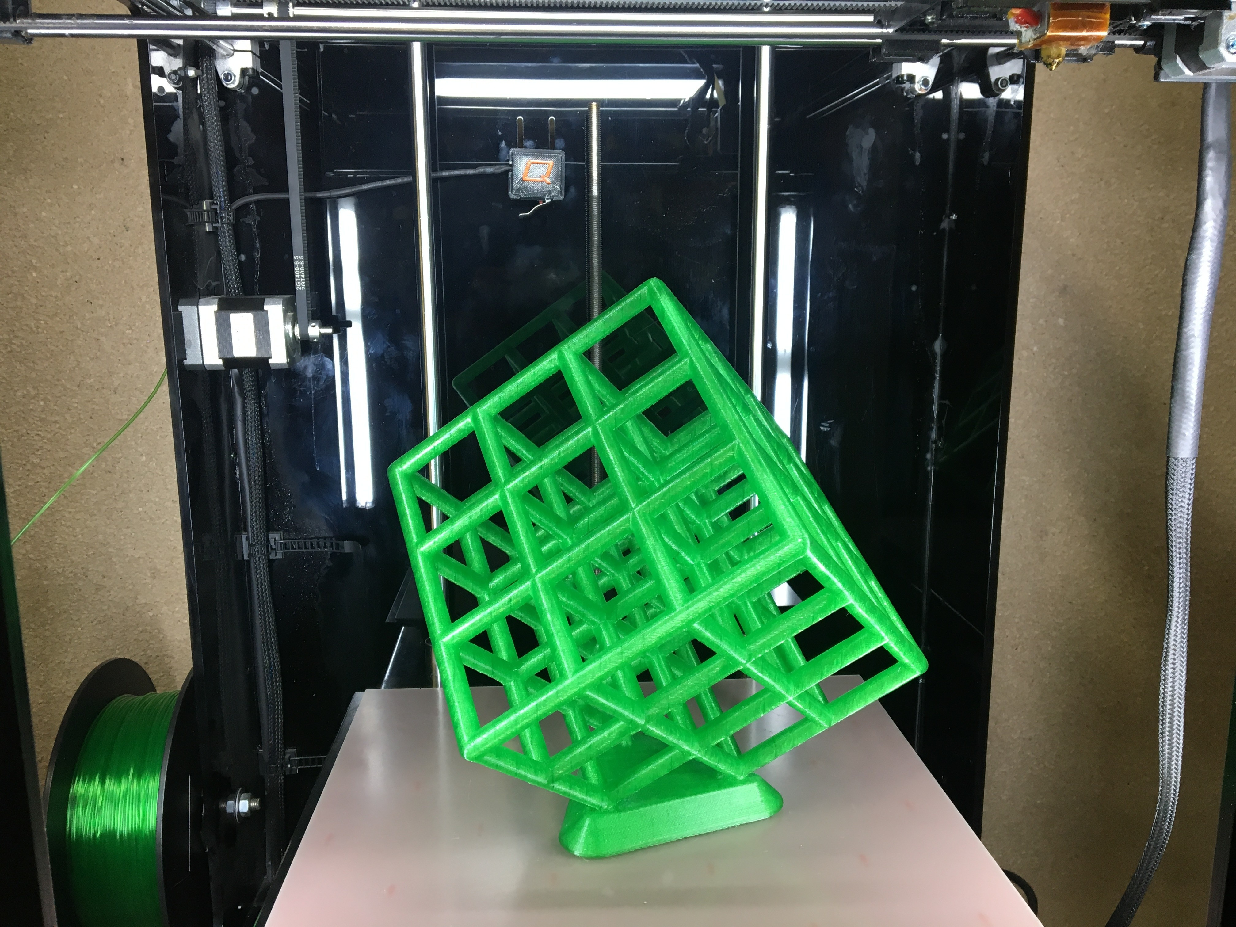 IMG_0333.JPG Download free STL file Lattice Cube • 3D print design, Quantum3D