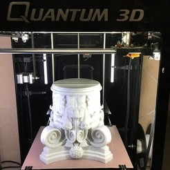 IMG_0292.JPG Download free STL file Marble Column • Design to 3D print, Quantum3D