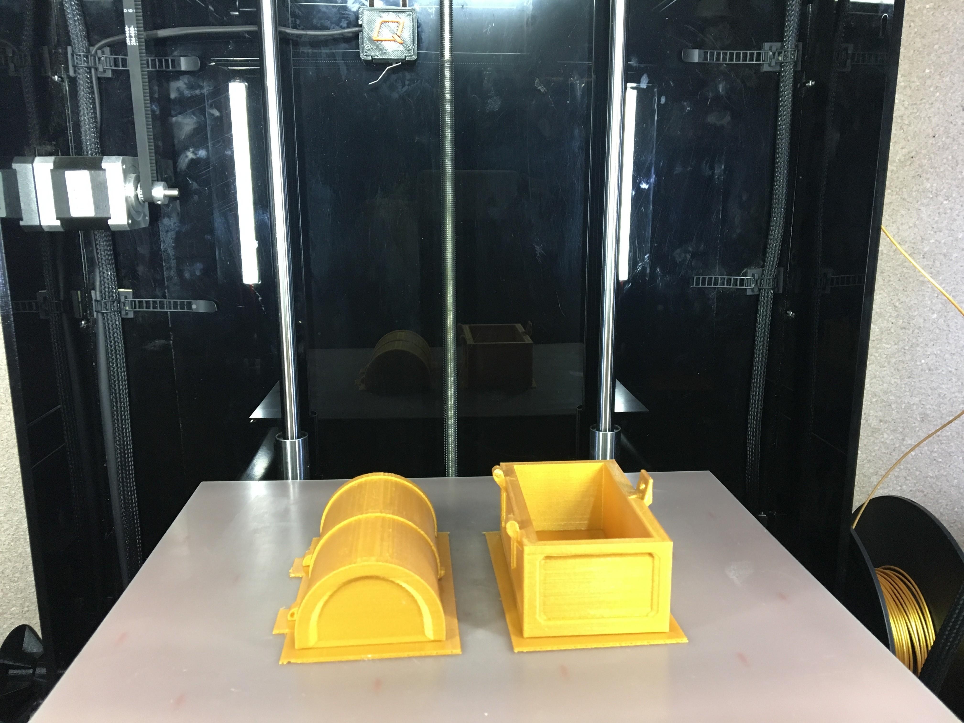IMG_0310.JPG Télécharger fichier STL gratuit Coffre au trésor d'or • Objet pour imprimante 3D, Quantum3D