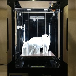 IMG_0274.JPG Download free STL file Wall Street Bull • Template to 3D print, Quantum3D
