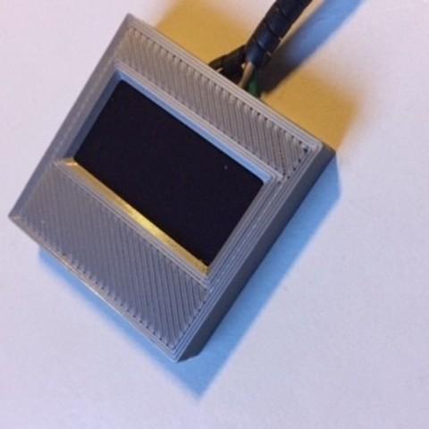 IMG_8339.JPG Download STL file OLED Display bezel • 3D printing template, Marcloud