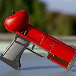 Free 3d printer designs Tomato Pistol (Rick and Morty), Shrubsy