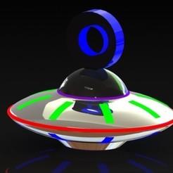 Download free 3D printing files UFO Earring, ErvinOsvaldoGonzlezTovar