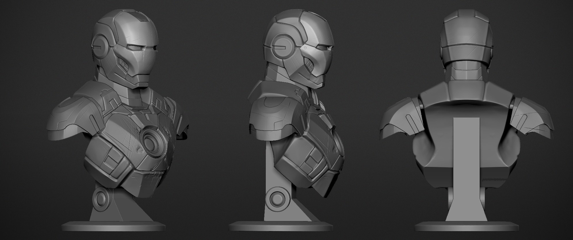 IronMan Mark3_02.jpg Download OBJ file Iron Man Mark3 • 3D printing model, Dynastinae