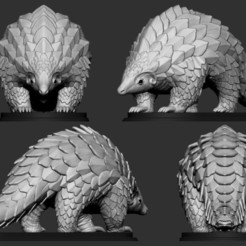 Impresiones 3D Pangolín, Garawake