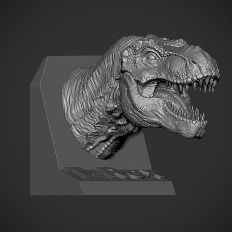 Z02.jpg Download OBJ file T-rex Tyrannosaurus • 3D printable object, Dynastinae
