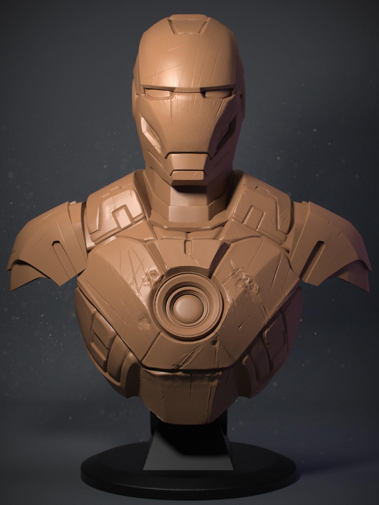 IRM03_02.jpg Download OBJ file Iron Man Mark3 • 3D printing model, Dynastinae