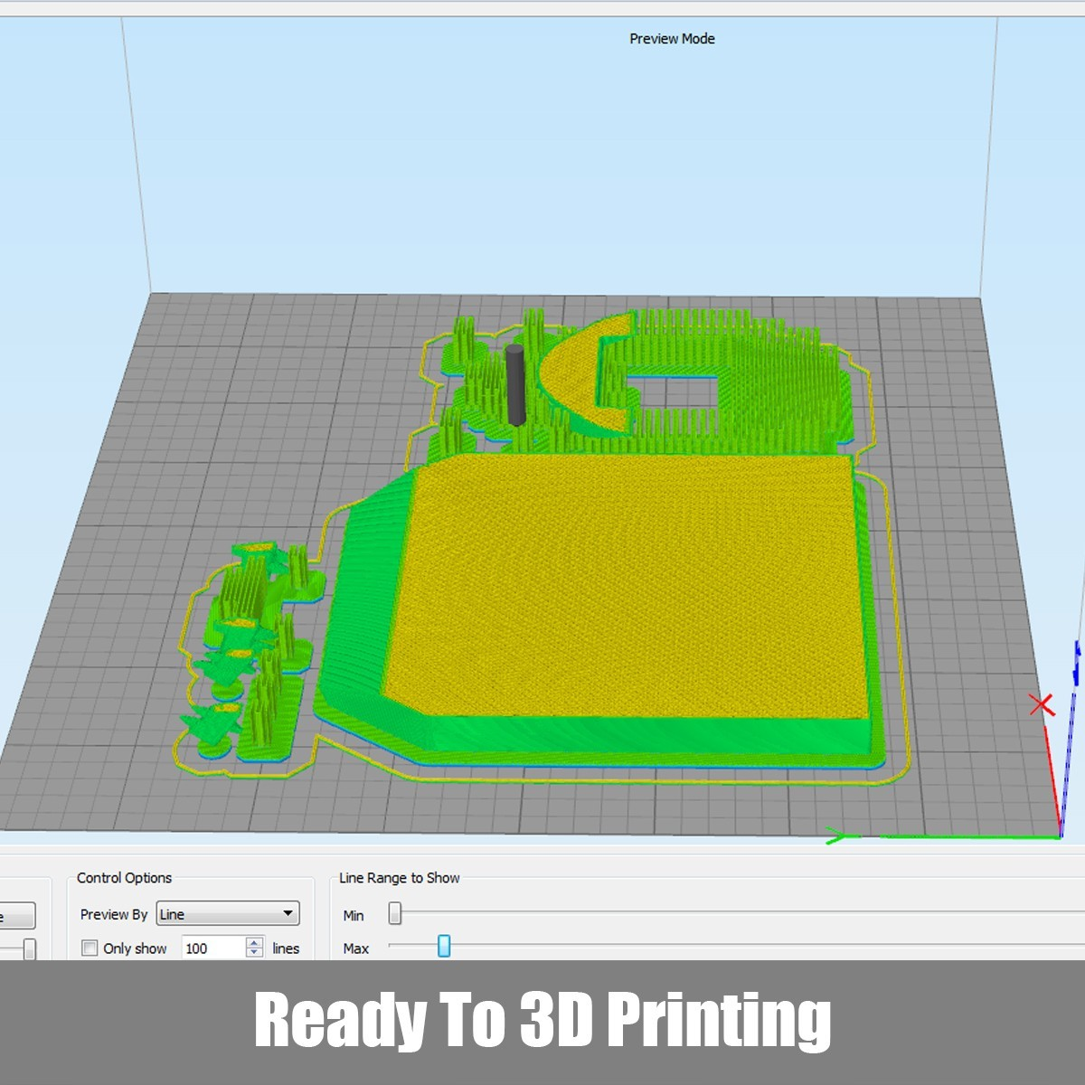 P02.jpg Download OBJ file T-rex Tyrannosaurus • 3D printable object, Dynastinae