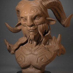 Download 3D printer model Fauno (Pan's Labyrinth), Garawake