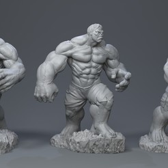 Download STL files Hulk bruce banner, 5RVagabond