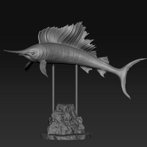 ZZZZ.jpg Download free STL file Istiophorus • 3D printable template, Dynastinae