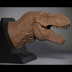 01.jpg Download OBJ file T-rex Tyrannosaurus • 3D printable object, Dynastinae