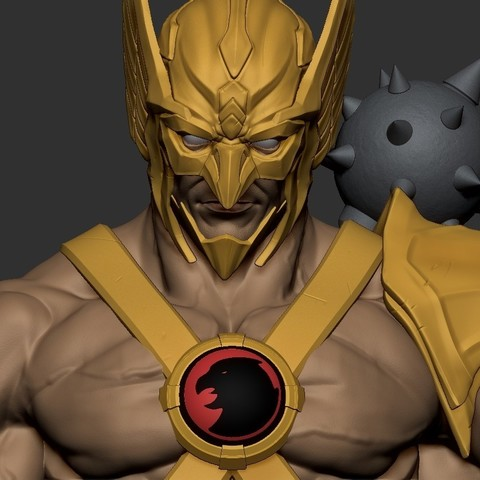 Download 3D printer templates Hawkman, 5RVagabond