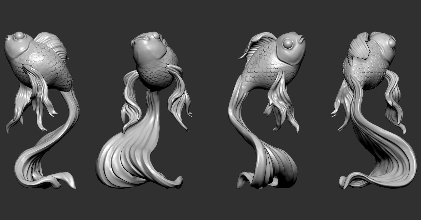 GF01.jpg Download free OBJ file Goldfish • 3D printer object, Dynastinae